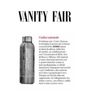 Pubblicazione su Vanity Fair